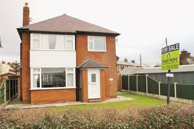 Thumbnail Detached house for sale in Liverpool Road, Walmer Bridge, Preston