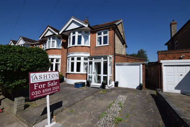 Thumbnail End terrace house for sale in Havering Gardens, Chadwell Heath, Romford