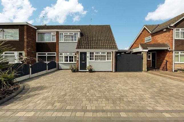 Thumbnail Semi-detached house for sale in Greenfields Road, Wombourne, Wolverhampton