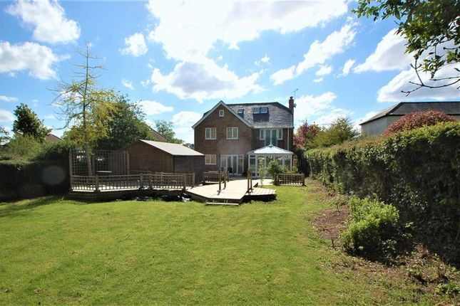 Thumbnail Detached house for sale in Amersham Road, Hazlemere, High Wycombe