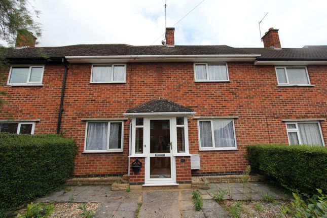 Thumbnail Town house to rent in Cartwright Drive, Oadby, Leicester