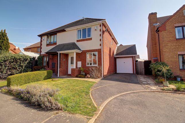 2 bed semi-detached house for sale in Exbury Way, Nuneaton CV11