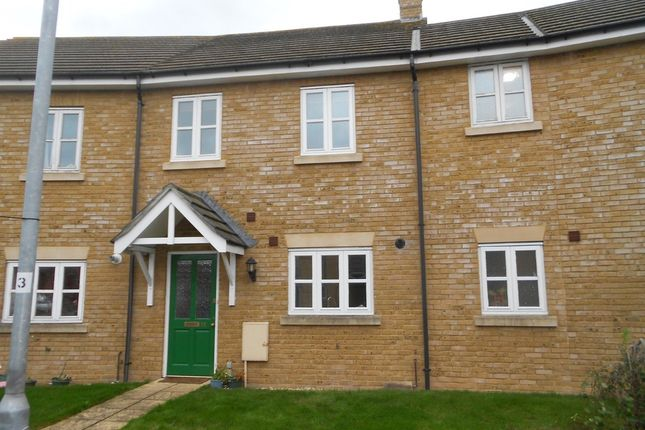 Thumbnail Terraced house to rent in Somerset Close, Martock