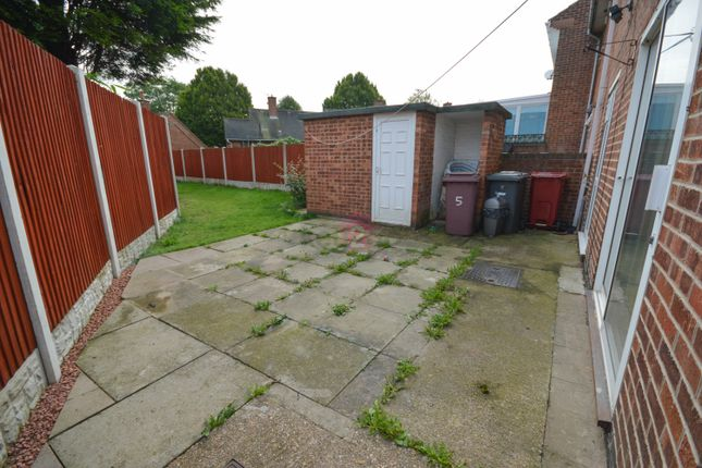 Rear Garden of Oak Close, Killamarsh, Sheffield S21