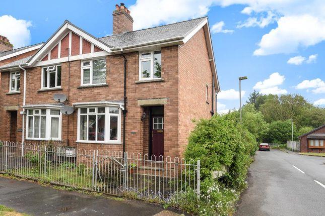 Thumbnail Semi-detached house for sale in Dyffryn Road, Llandrindod Wells