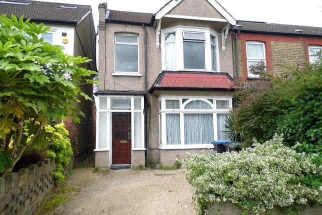 Thumbnail Semi-detached house for sale in Wellington Road, Bush Hill Park