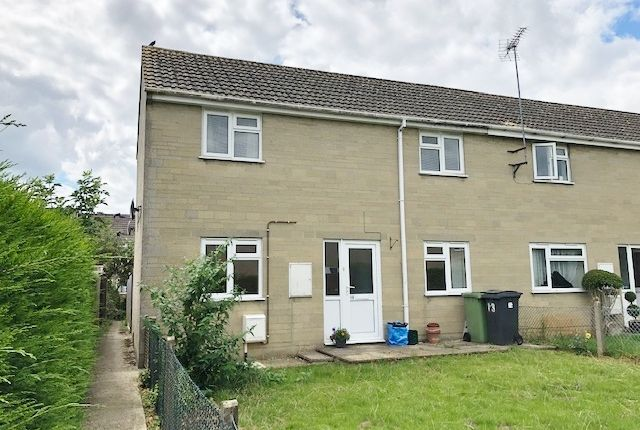 Thumbnail End terrace house for sale in Park Close, Fairford