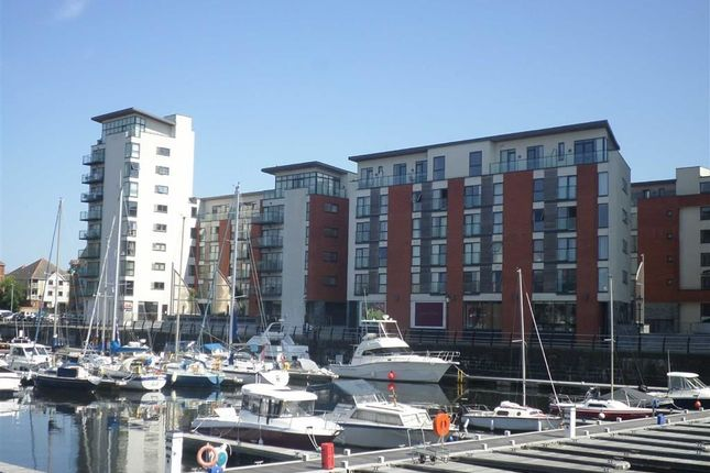 Thumbnail Flat for sale in Meridian Wharf, Trawler Road, Swansea