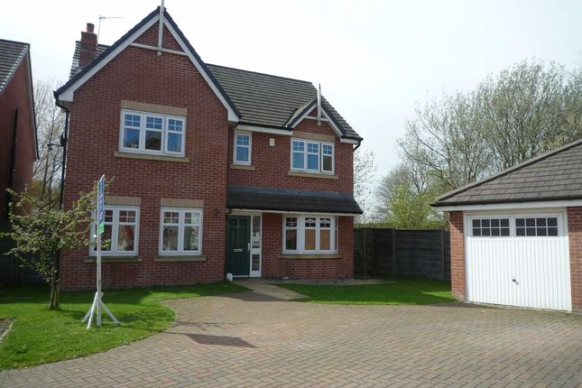 Thumbnail Detached house to rent in Godolphin Close, Eccles, Manchester