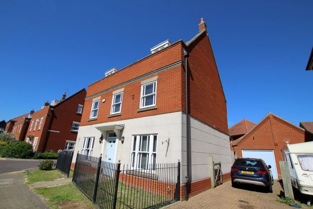 Thumbnail Detached house to rent in Mansbrook Boulevard, Ipswich