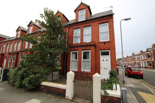 Thumbnail End terrace house to rent in Cambridge Road, Liverpool