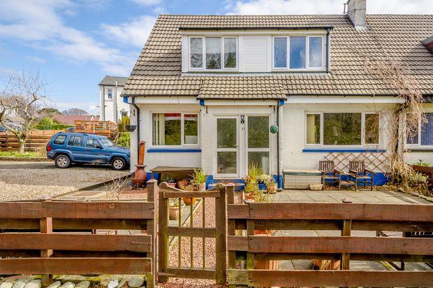 Thumbnail Semi-detached house for sale in Broomfield, Campbeltown