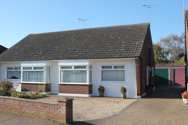 Thumbnail Semi-detached bungalow for sale in Rose Avenue, Stanway, Colchester