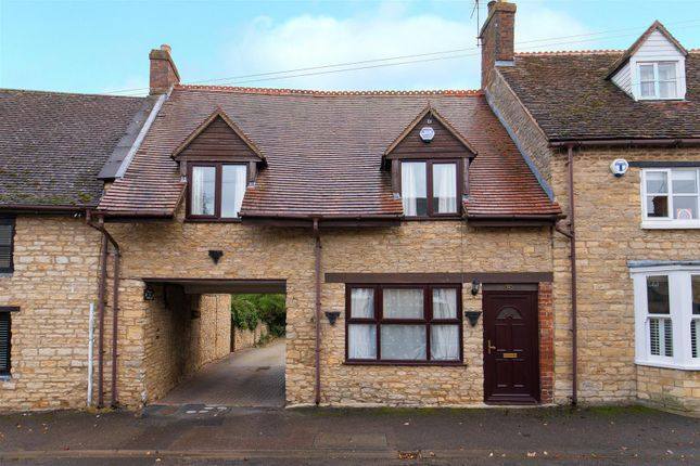 Thumbnail Terraced house for sale in High Street, Stoke Goldington, Newport Pagnell