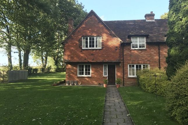 Thumbnail Semi-detached house to rent in Hunton, Sutton Scotney, Winchester