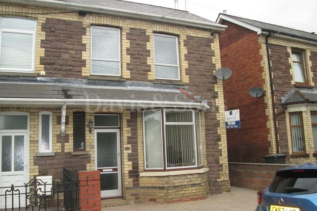 Thumbnail Semi-detached house for sale in Brookland Road, Risca, Newport.