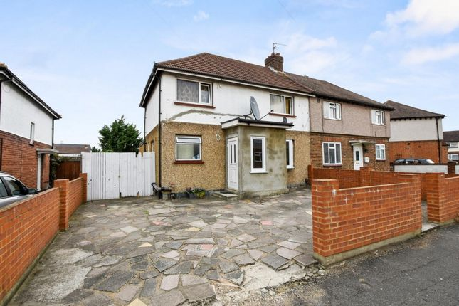 Thumbnail Semi-detached house for sale in South Close, West Drayton