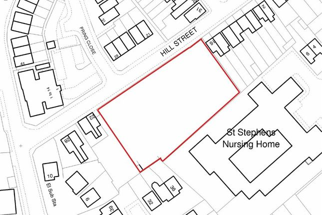 Thumbnail Land for sale in Hill Street, Sandbach, Cheshire