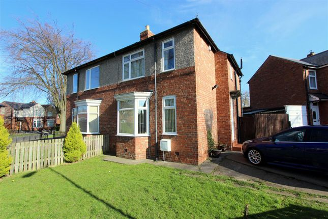 3 bed semi-detached house for sale in Crossfield Road, Darlington