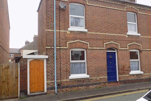 Thumbnail End terrace house to rent in Cambrian Road, Chester