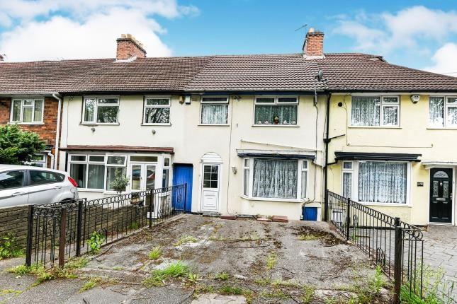 Thumbnail Terraced house for sale in The Ridgeway, Erdington, Birmingham, West Midlands