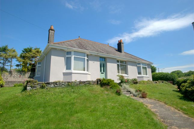 Thumbnail Detached bungalow for sale in Meadow View Road, Plympton, Plymouth