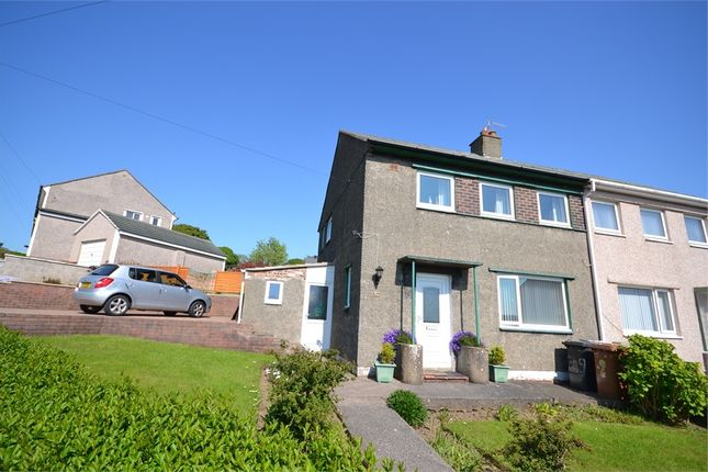 Thumbnail Semi-detached house to rent in Meadow Road, Whitehaven, Cumbria