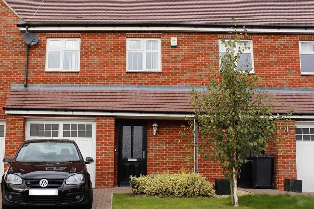 Thumbnail Terraced house for sale in Winkadale Close, Bushby, Leicester