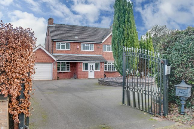 Thumbnail Detached house for sale in Bromsgrove Road, Hunnington