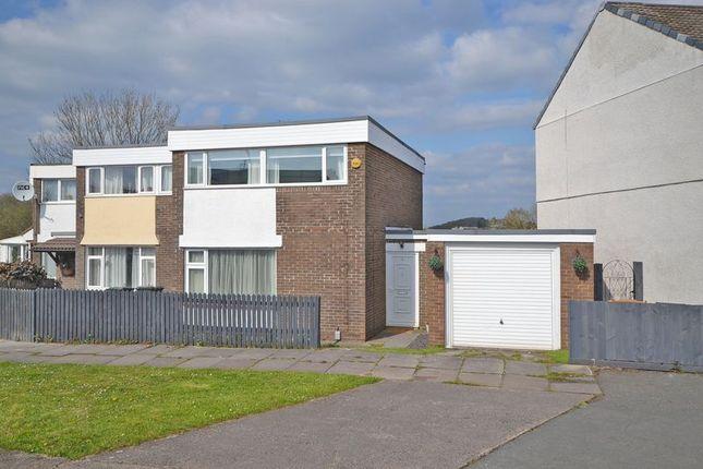 Thumbnail Terraced house for sale in Stylish Modern House, Allt-Yr-Yn Way, Newport