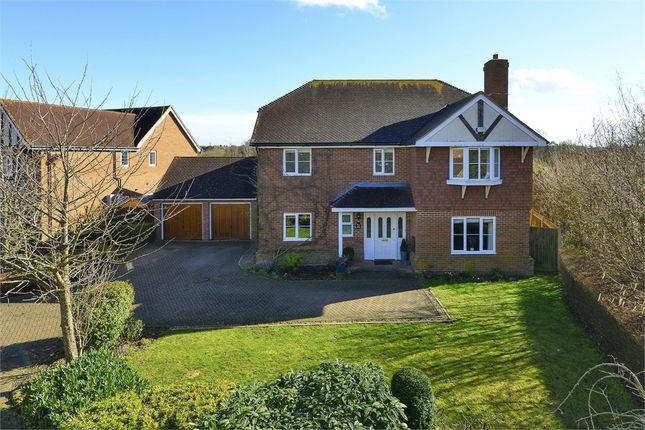 Thumbnail Detached house for sale in Mallard Close, Stillwater Park, Herne Bay, Kent