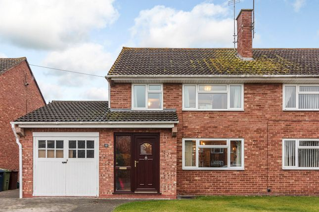 Thumbnail Semi-detached house for sale in Elmbury Drive, Tewkesbury