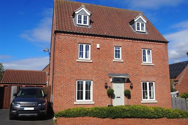 Thumbnail Detached house for sale in Humberstone Road, Southwell, Nottinghamshire