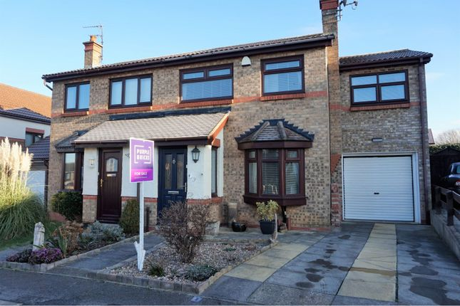 Thumbnail Semi-detached house for sale in Endeavour Drive, Middlesbrough