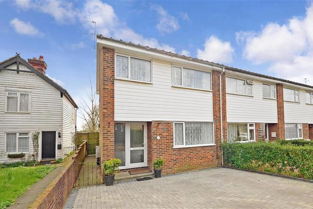 Thumbnail End terrace house for sale in Mill Walk, Maidstone, Kent