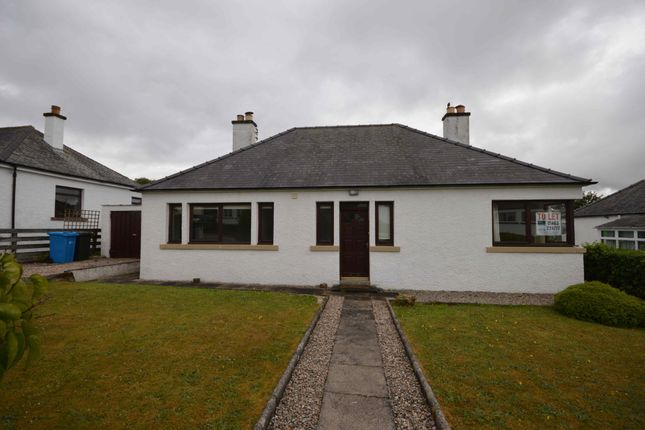 Thumbnail Detached bungalow to rent in Woodlands Road, Dingwall