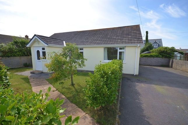 2 bed detached bungalow for sale in Highfield Road, Mount Hawke, Cornwall