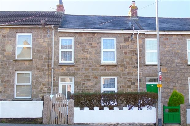 3 bed terraced house for sale in College Street, Camborne