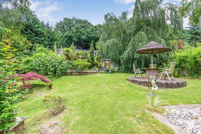 Garden of Farley Road, Oakamoor, Stoke-On-Trent ST10