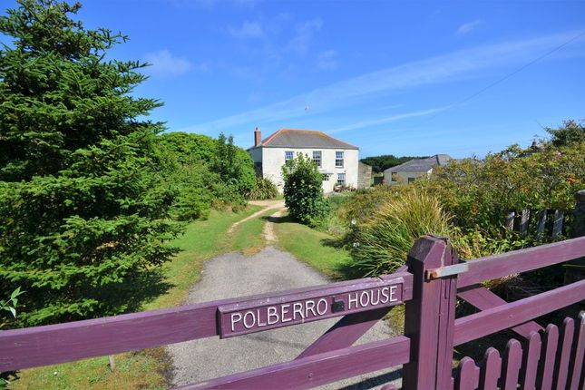 Thumbnail Bungalow for sale in West Polberro, St. Agnes, Cornwall