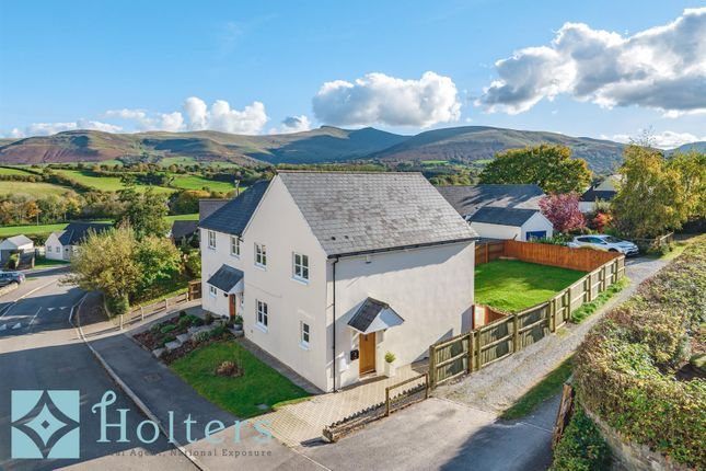 Thumbnail Semi-detached house for sale in Pen Y Fan Close, Libanus, Brecon