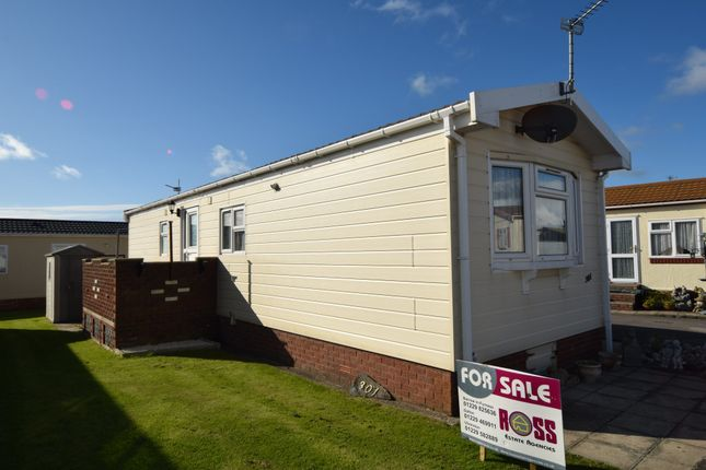 Thumbnail Mobile/park home for sale in West Shore Park, Walney, Cumbria
