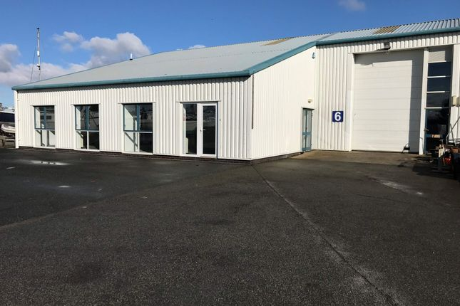 Thumbnail Light industrial to let in Unit 6, Hafan Marina Workshops, Pwllheli