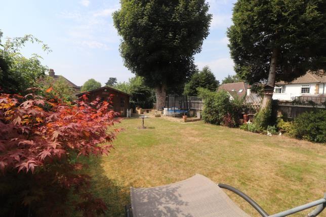 Rear Gardens of Buxton Lane, Caterham, Surrey, . CR3