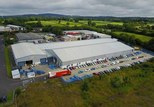 Thumbnail Warehouse for sale in Caulside Drive, Antrim, County Antrim