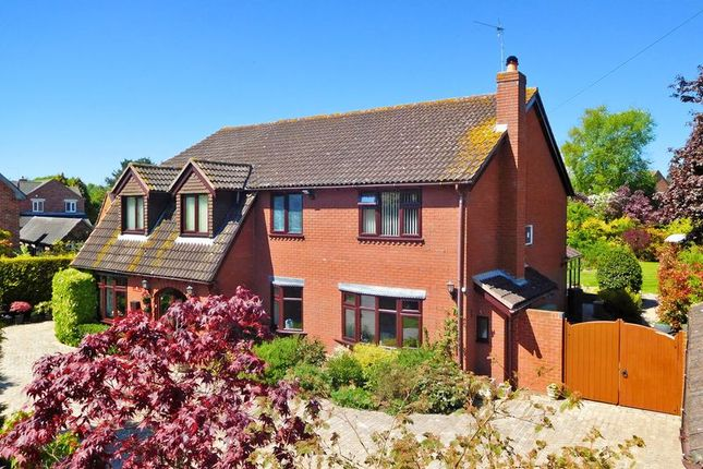 Thumbnail Detached house for sale in Main Road, Norton In Hales, Market Drayton