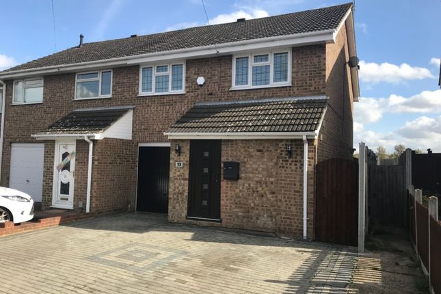 Thumbnail Semi-detached house for sale in Coltishall Road, Hornchurch