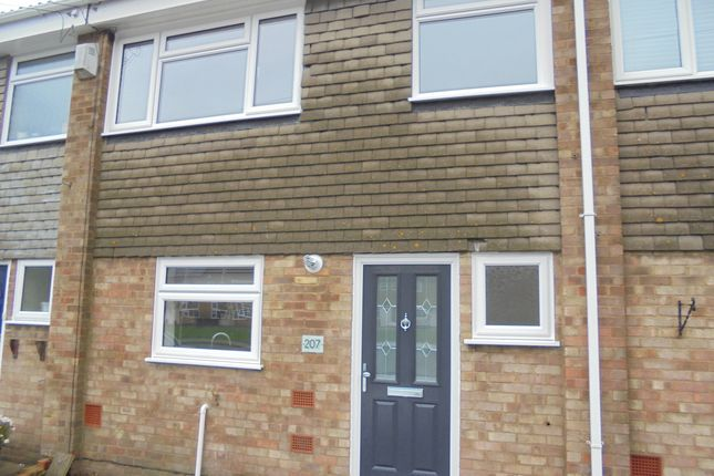 Thumbnail Terraced house to rent in Walderslade Road, Chatham Kent