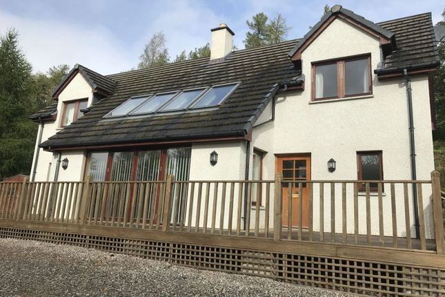Thumbnail Detached house to rent in Strathconon, Muir Of Ord