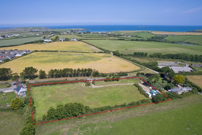 Thumbnail Land for sale in St. Merryn, Padstow